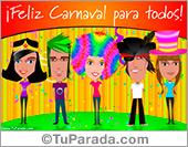 Tarjetas postales: Ecard de carnaval