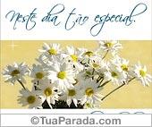 Cartões postais: Cartão de felicidades