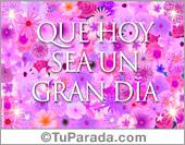 Felicidades - Tarjetas postales: Felicidades