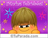 Felicidades - Tarjetas postales: Tarjeta de felicidades