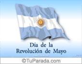 Tarjetas postales: Día de la Revolución de Mayo
