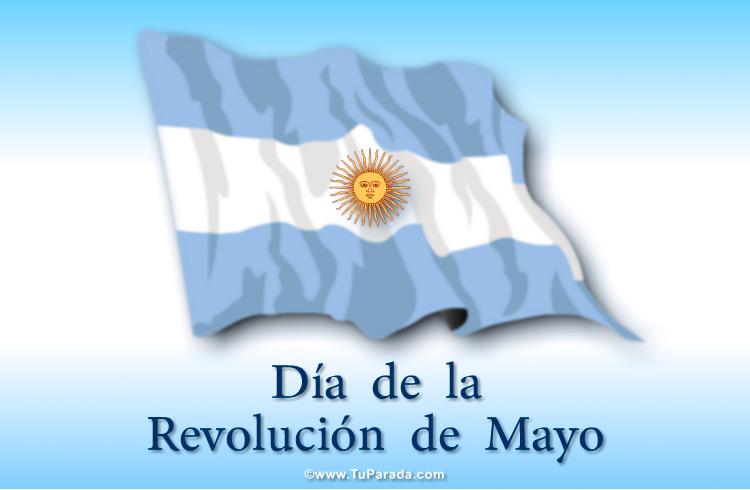 Tarjeta - Día de la Revolución de Mayo