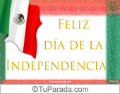 Tarjetas postales: Día de la Independencia de México