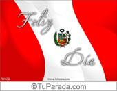 Tarjetas postales: Fiestas de Perú