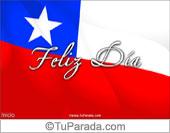 Tarjetas, postales: Fiestas de Chile
