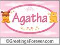 Names for babies, Agatha