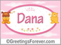 Names for babies, Dana