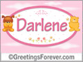Names for babies, Darlene