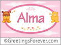 Names for babies, Alma