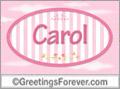 Names for doors, Carol
