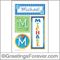 Name Michael and initials