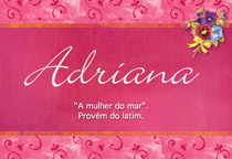 Nome Adriana