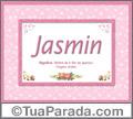 Significado e origem de Jasmin
