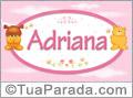 Nomes de bebê: Adriana