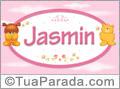 Nomes de bebê: Jasmin