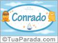 Nomes de bebê: Conrado
