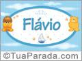 Nomes de bebê: Flavio