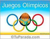 Tarjetas postales: Juegos Olímpicos