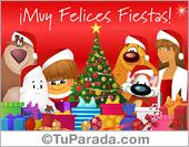Tarjetas postales: Tarjeta de Navidad