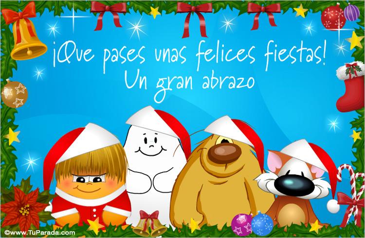 Tarjeta de navidad de buenos deseos navidad tarjetas - Deseos de feliz navidad ...