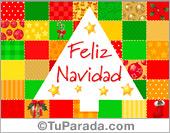Tarjetas postales: Tarjeta alegre de Navidad