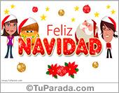 Tarjetas postales: Feliz Navidad con afecto