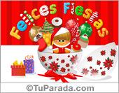 Tarjetas postales: Felices Fiestas