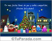 Tarjetas postales: Navidad