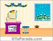 Muy Feliz Navidad con osito blanco