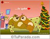 Tarjeta: En Navidad quería...