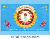 Tarjeta - Tarjeta de Navidad con ángel