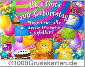 E-Card - Geburtstag