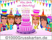 E-Cards: Geburtstag