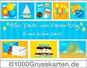 Geburtstag E-Card