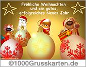 Frohe Weihnachten E-Card