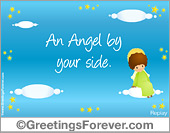 Greeting ecards: Angels