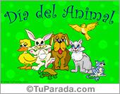Tarjeta de Protección de los animales
