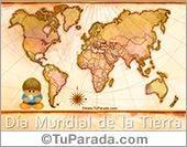 Días para recordar - Tarjetas postales: Tarjeta Día mundial de la tierra