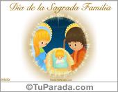 Días para recordar - Tarjetas postales: Día de la Sagrada Familia