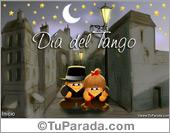 Días para recordar - Tarjetas postales: Tarjeta día del tango