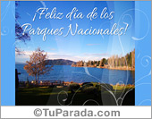 Tarjeta - Día de los Parques Nacionales