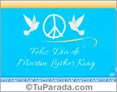 Tarjeta - Día de Martin Luther King