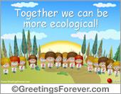 Ecological eCard