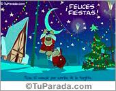 Tarjeta de Felices Fiestas
