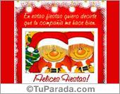 Felices Fiestas - Tarjeta Interactiva