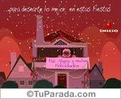 Tarjetas postales: Preparativos para las Fiestas