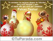 Tarjeta - Los mejores deseos para Navidad