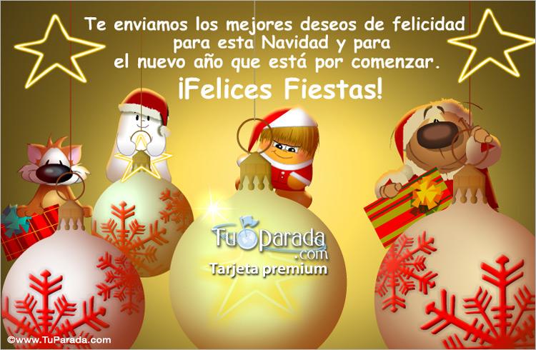 Los mejores deseos para navidad felices fiestas tarjetas - Deseos de feliz navidad ...