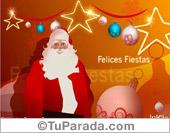 Tarjetas postales: Papá Noel