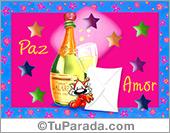 Tarjetas postales: Paz y Amor